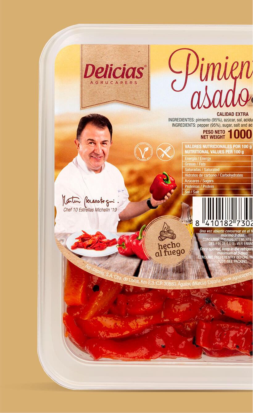 product pimientos asados
